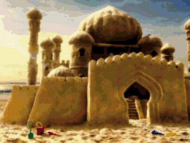 Песочный замок, предпросмотр