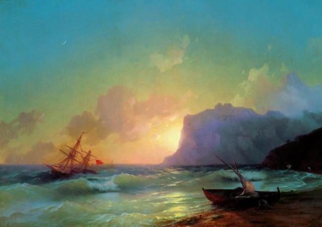 Айвазовский. Море. Коктебель
