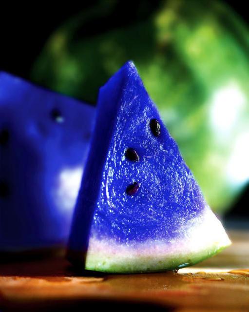 Синий арбуз, оригинал
