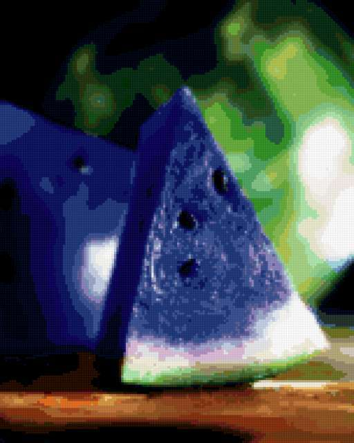 Синий арбуз, предпросмотр