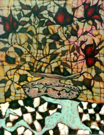 Мозаика цветы, цветы, мозаика