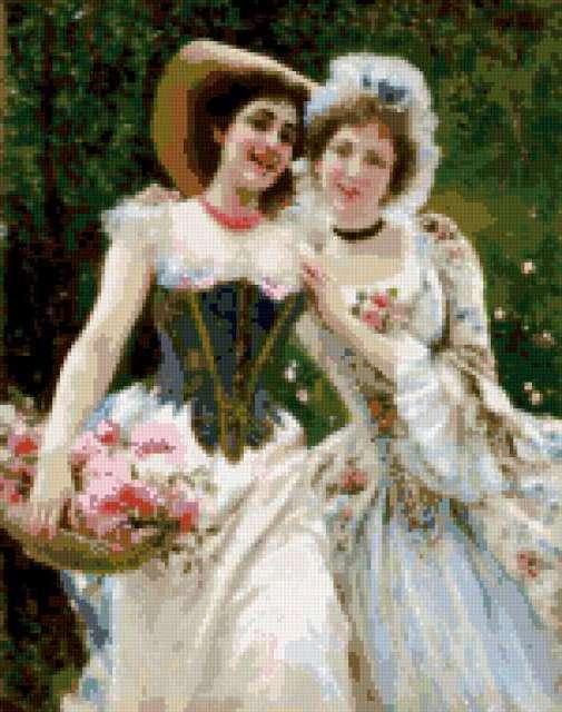 Прекрасные дамы, предпросмотр
