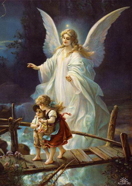 Ангел- Хранитель(гобелен),