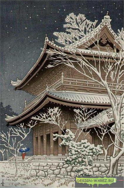 Зимний сад, оригинал
