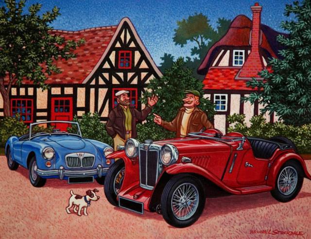 Любимое авто, картина