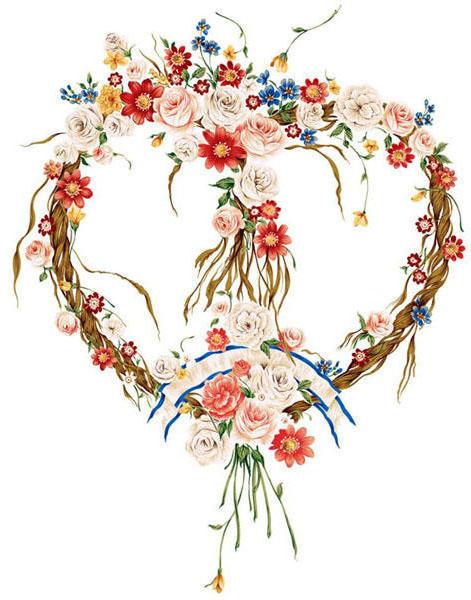 Сердце из цветов., цветы, сердечко, праздник, день валентина, ленты, розы, узор, для скатерти, салфетка, платок, подушка, подарок