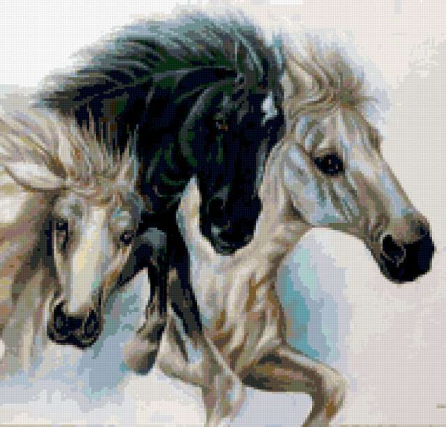 Тройка лошадей, предпросмотр