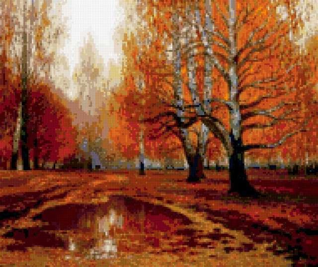 Рыжая осень, предпросмотр