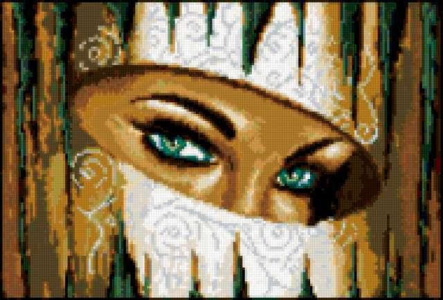 Восточные глаза, предпросмотр