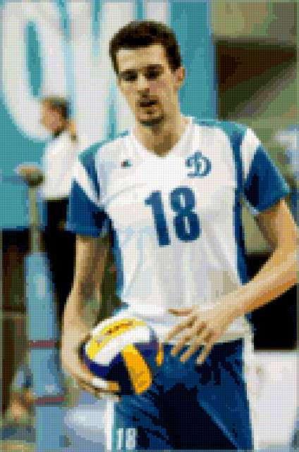 Волейболист Александр Волков