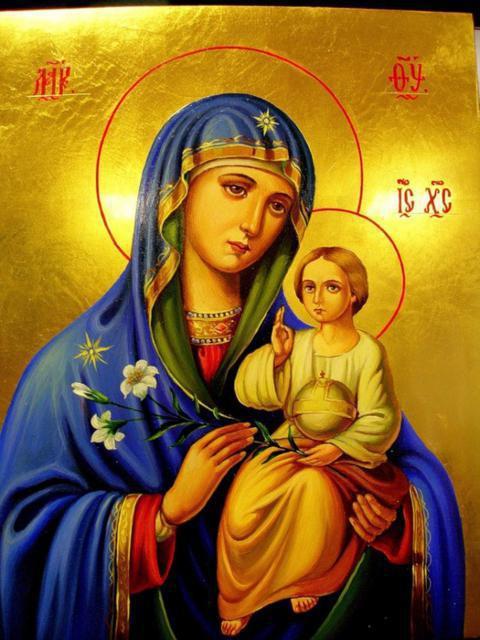 Божья Матерь Неувядаемый Цвет, икона ...: www.xrest.ru/original/Божья Матерь...