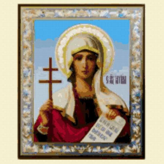 Икона великомученицы Татьяны