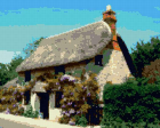 Английский домик, предпросмотр