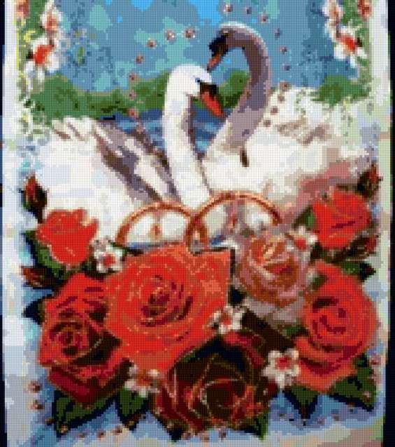 Свадебный рушник, предпросмотр