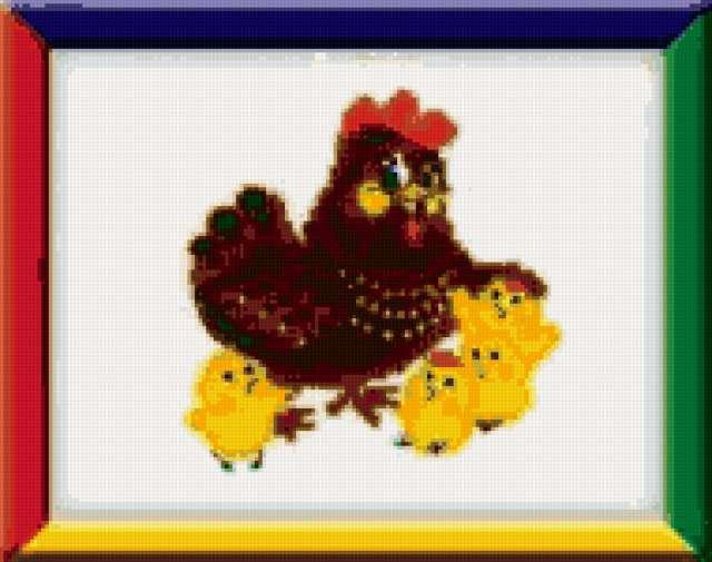 Мама-курица, предпросмотр
