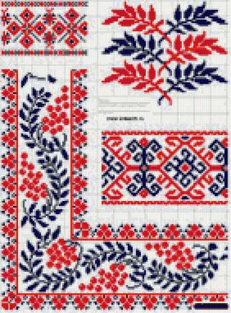 Украинская вышивка