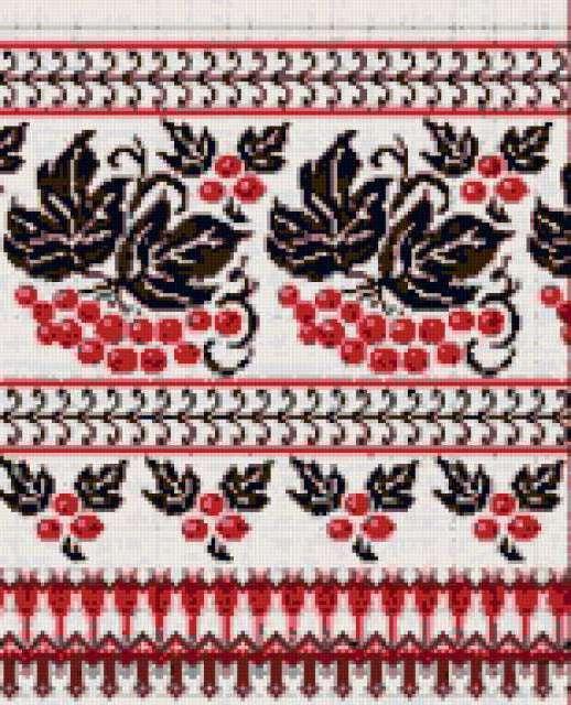 Схемы вышивки скатерти гладь 97