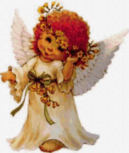 Ангел, ребенок крылья платье
