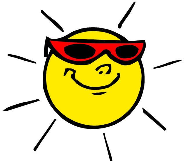 Крутое солнышко, солнце