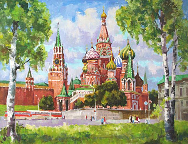 Храм Василия Блаженного, храм