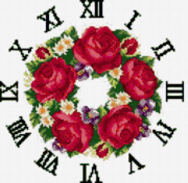 Часы розы, оригинал