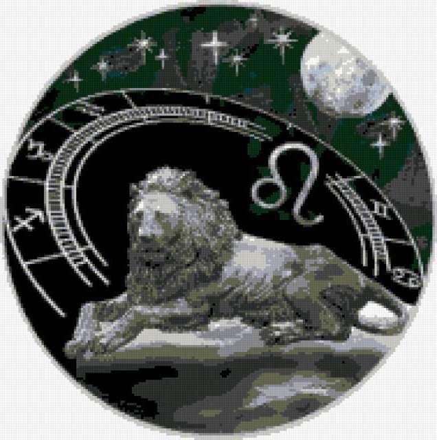 Знаки зодиака - лев