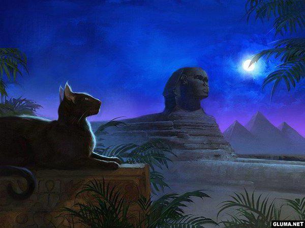 Египетские мотивы, оригинал