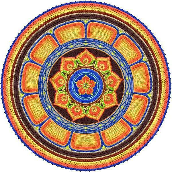 Орнамент в круге, оригинал