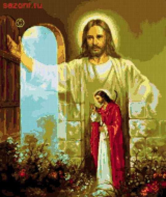 ИИсус Христос стучится в