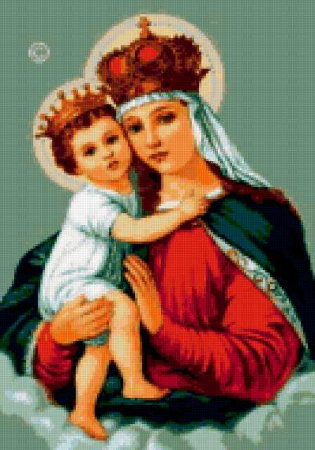 Матерь Божья, икона