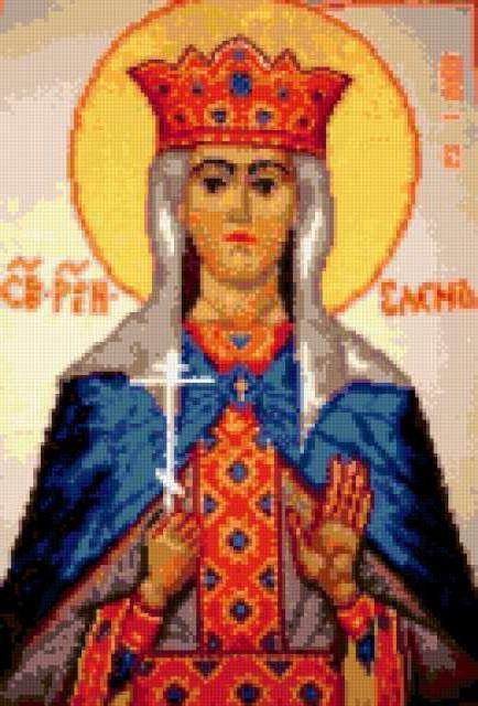 Св. Елена, икона