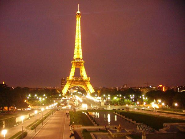 Ночной Париж, оригинал