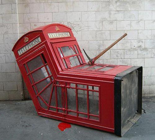 Телефонная будка, оригинал