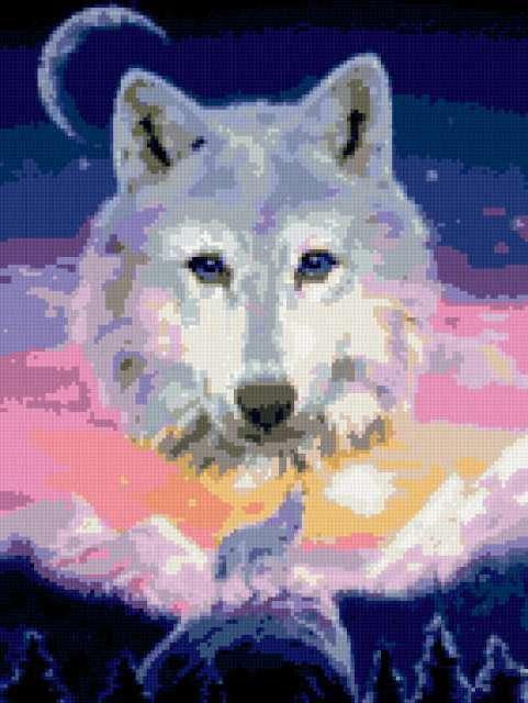 Белый волк, предпросмотр