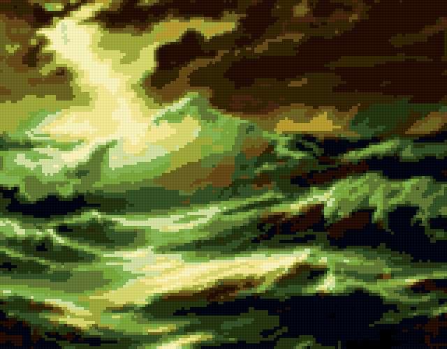 Гроза над морем, предпросмотр