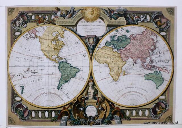 Старинная карта, оригинал