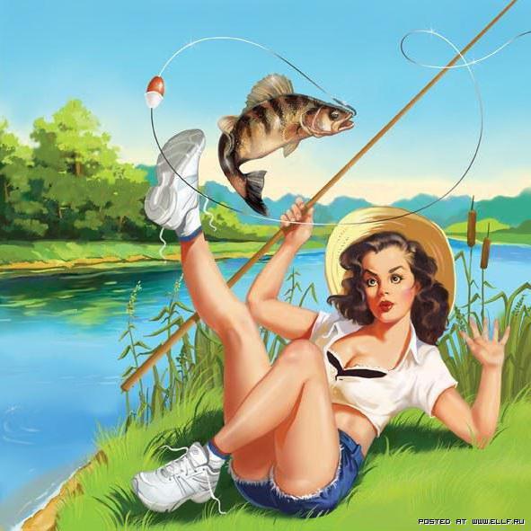 Рыбачка Соня, оригинал