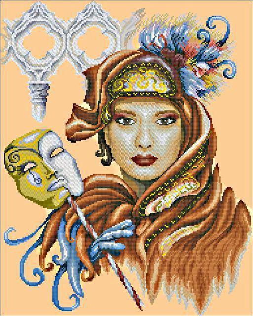 Венецианская маска, оригинал