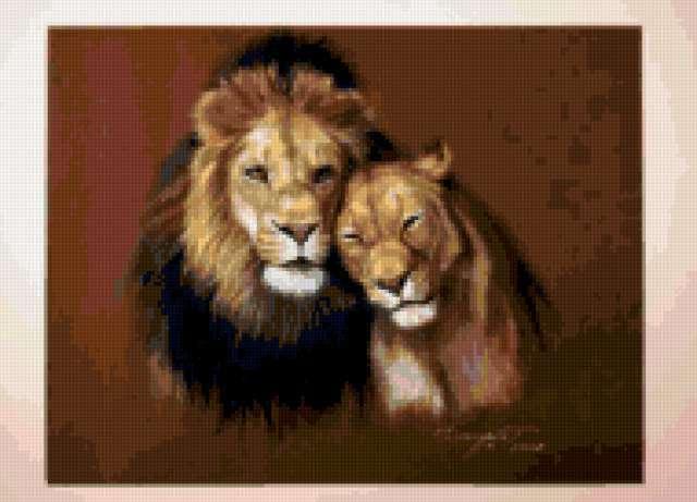Львы, предпросмотр