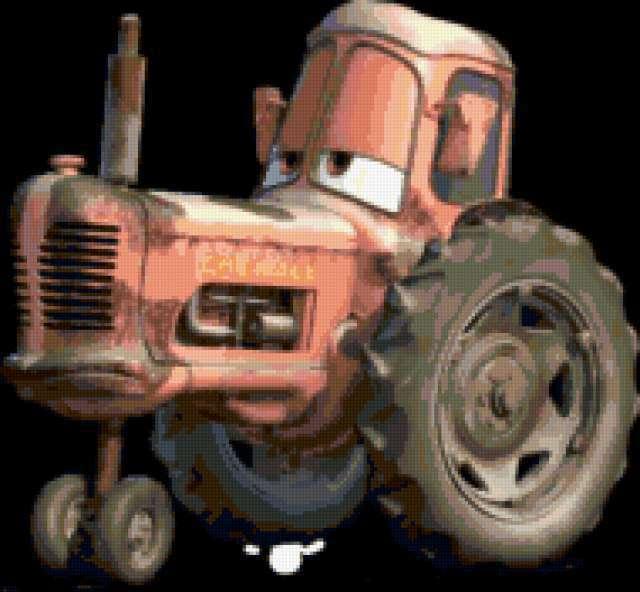 Трактор. Тачки, предпросмотр