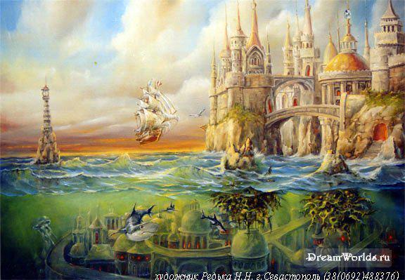 Сказочный замок, оригинал