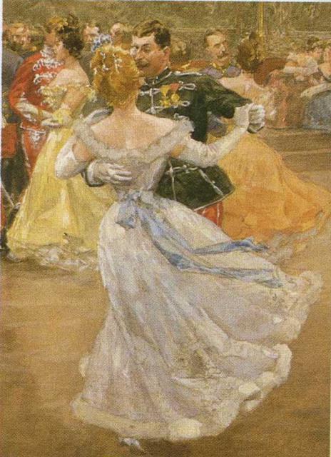 Бальный танец, девушка