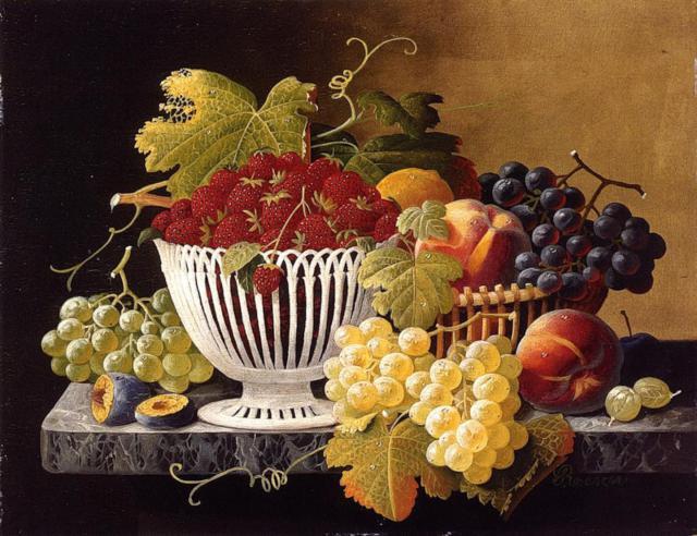 Натюрморт, натюрморт, фрукты