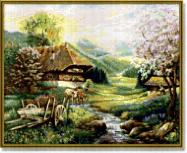 Сельский домик, предпросмотр