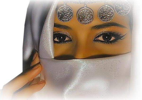 Восточные глаза, оригинал