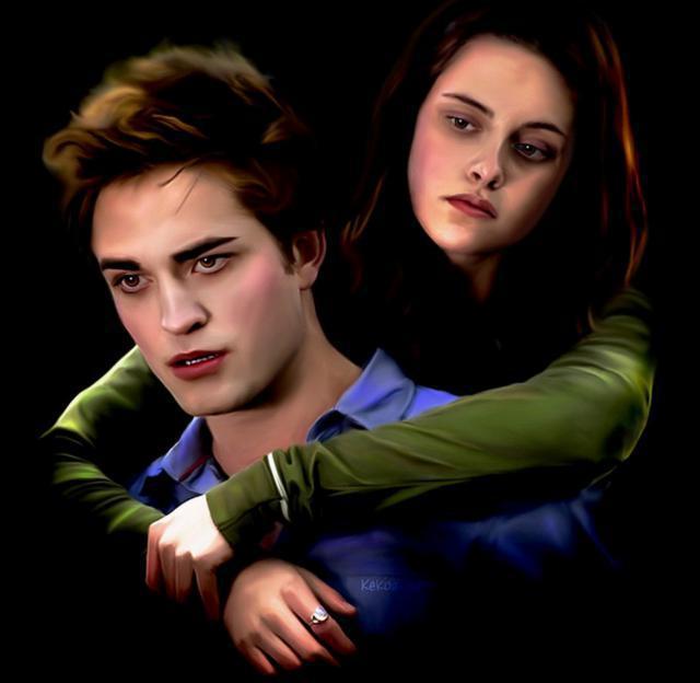 фото белла и эдвард вампиры