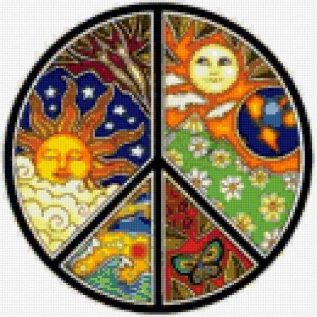 Мир, пацифик, хиппи, пацифизм