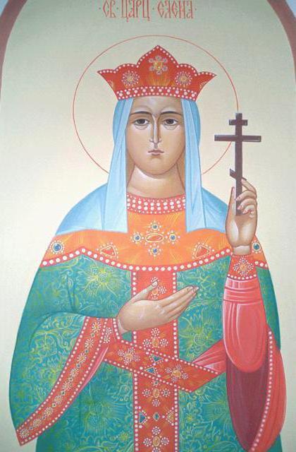 Святая Елена, икона