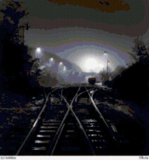 Железная дорога, предпросмотр