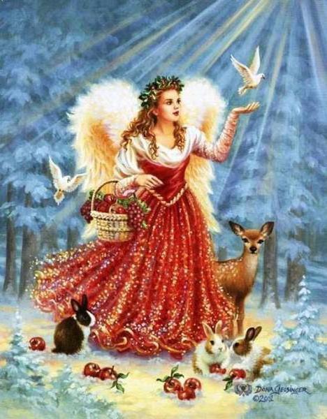Зимушка-зима, ангел, зима,